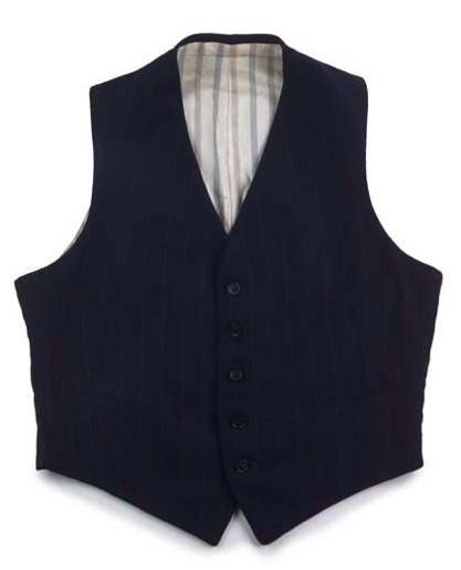 Demob waistcoat c.1945 (Museum of London 45.29-2d)
